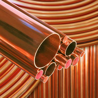 Copper pipe tube coil underground 20 metre table y for Table y copper tube