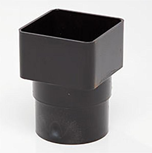 Polypipe Square Gutter Pipe Adaptor