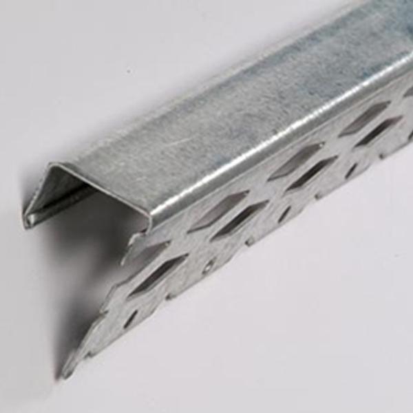 Drywall Stop Bead : Thin coat perforated drywall stop bead