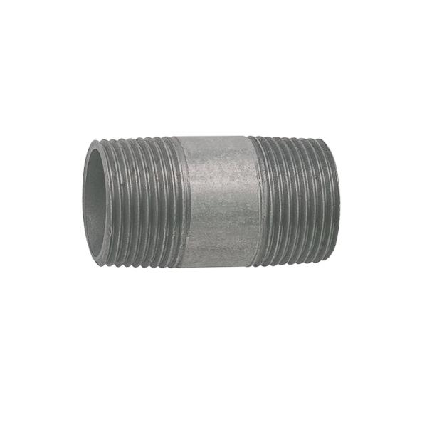 Malleable iron barrel nipple