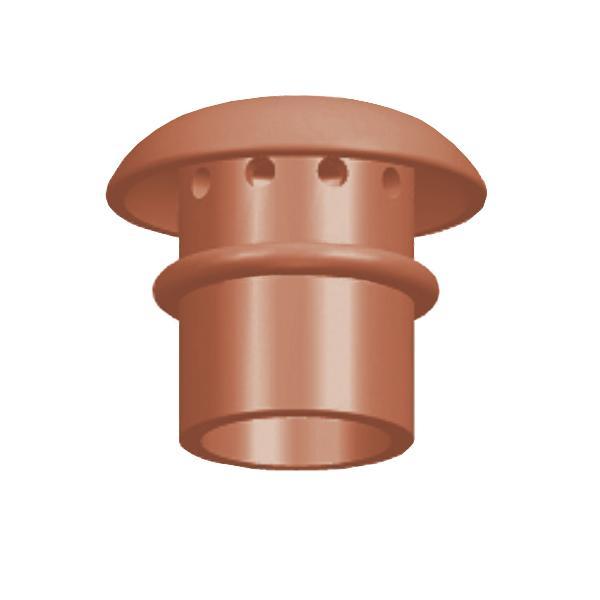 Clay Chimney Pot Mushroom Hood 270mm