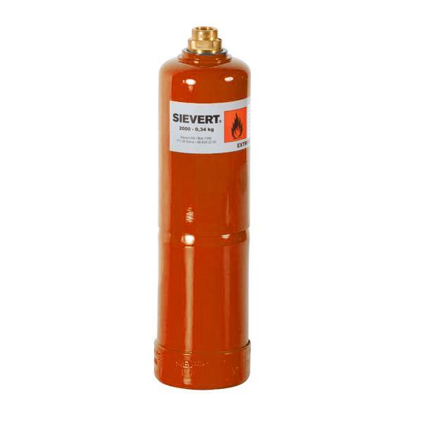 Sievert Primus 2000 Refill Gas Cylinder